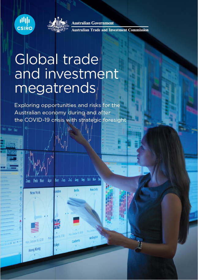 Global Trade and Investment Megatrends report cover