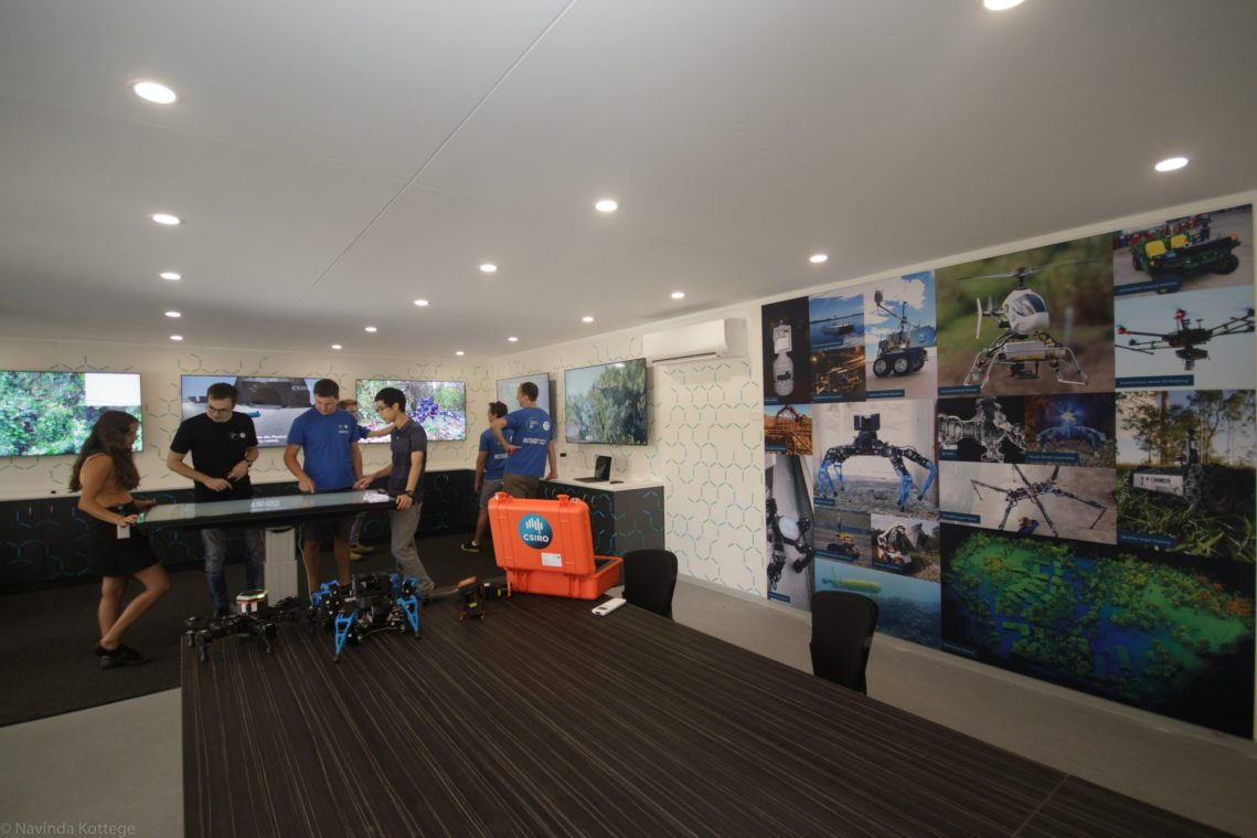 Image of Robotics Innovation Centre interior