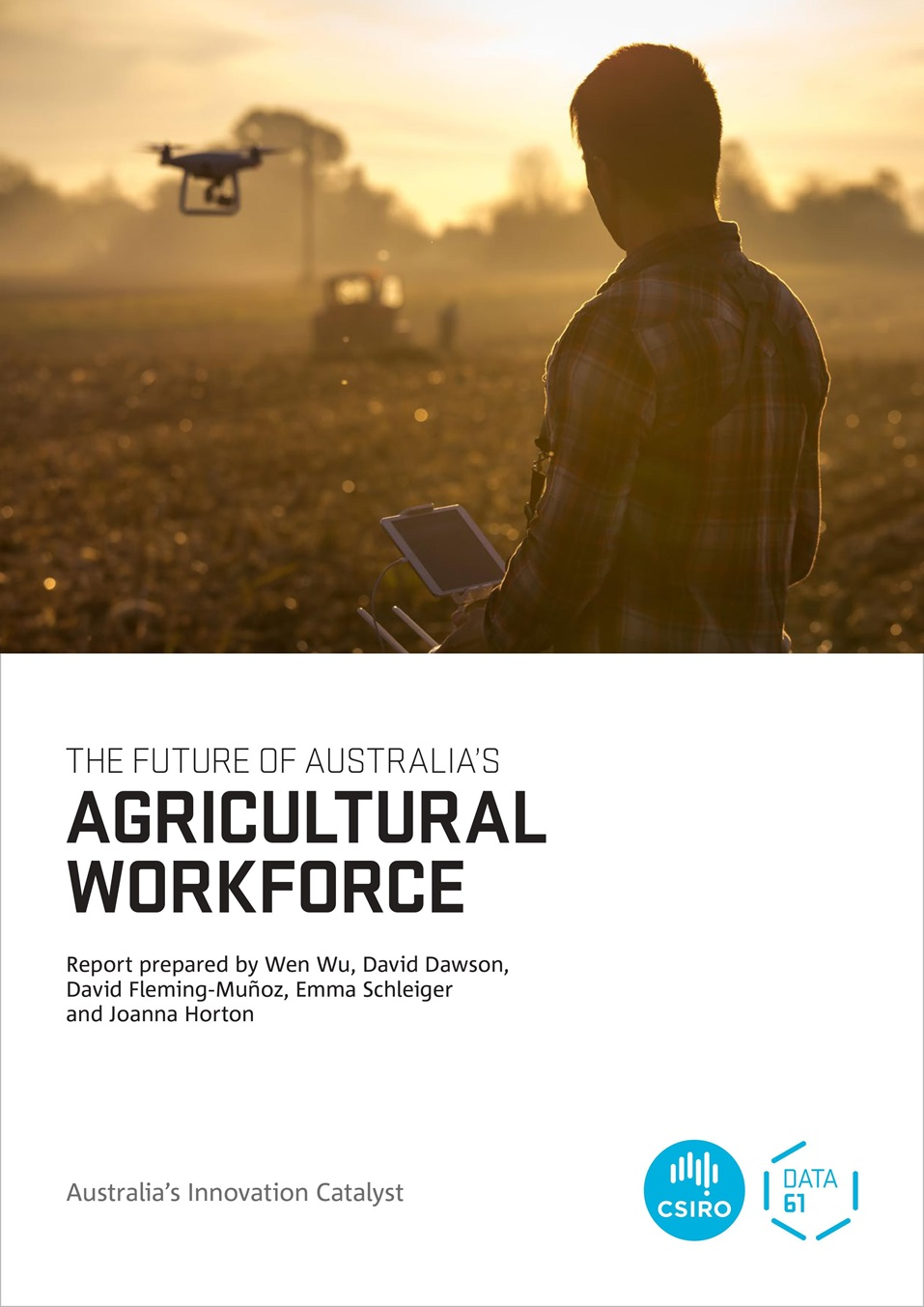 Cover of Agricultural Workforce report