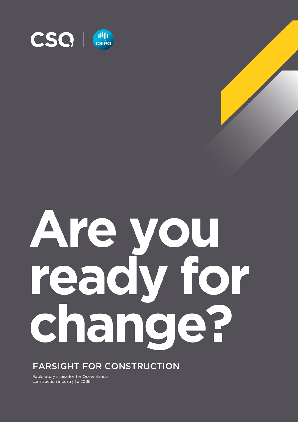 Cover image of Are you ready for change report