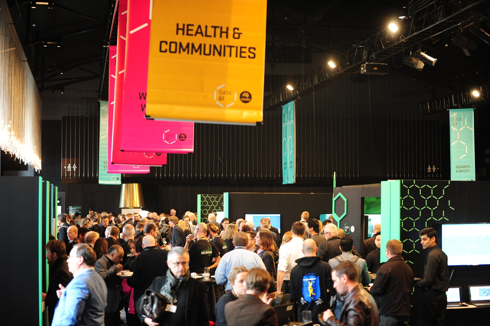 Attendees at D61+ LIVE 2017 at the Peninsula, Melbourne