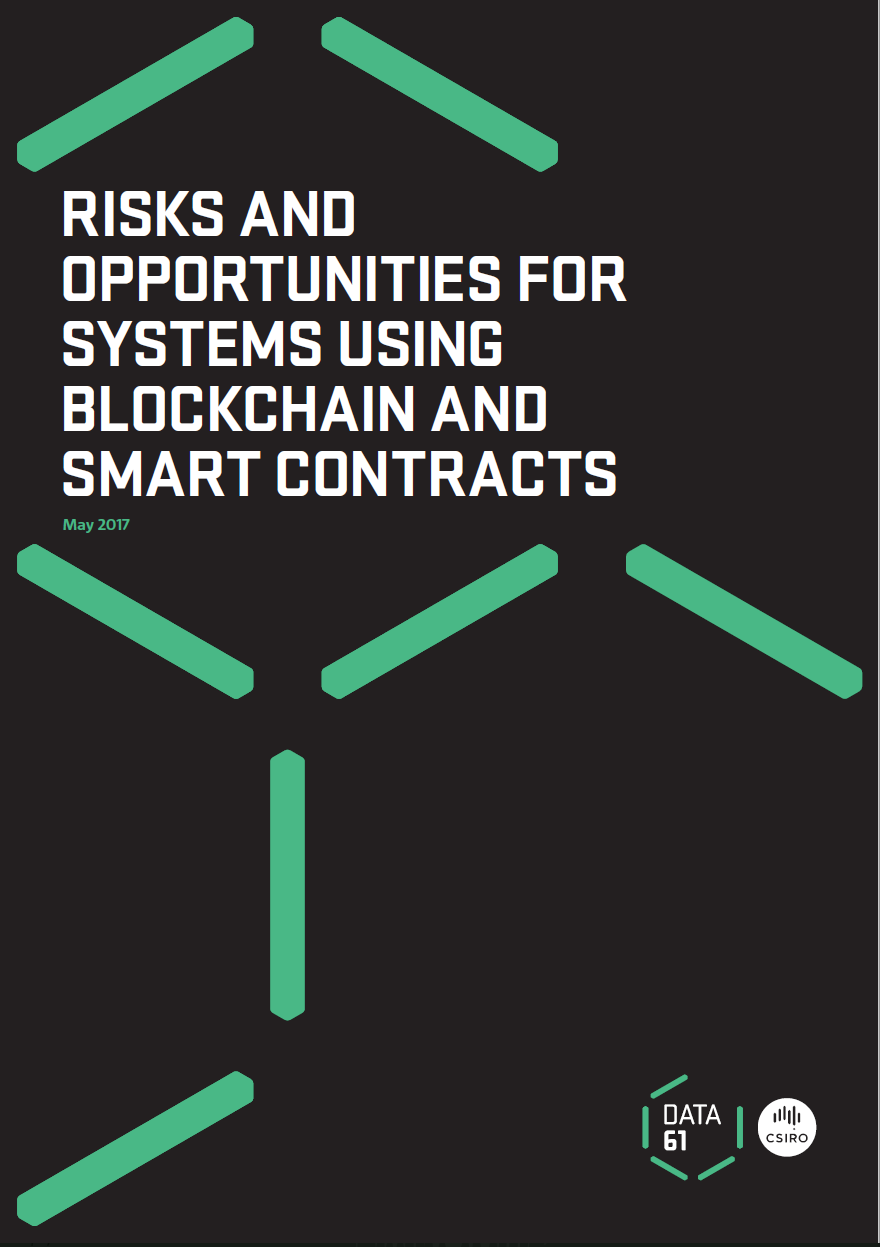 "Front cover of ""Risks and Opportunities"" report"